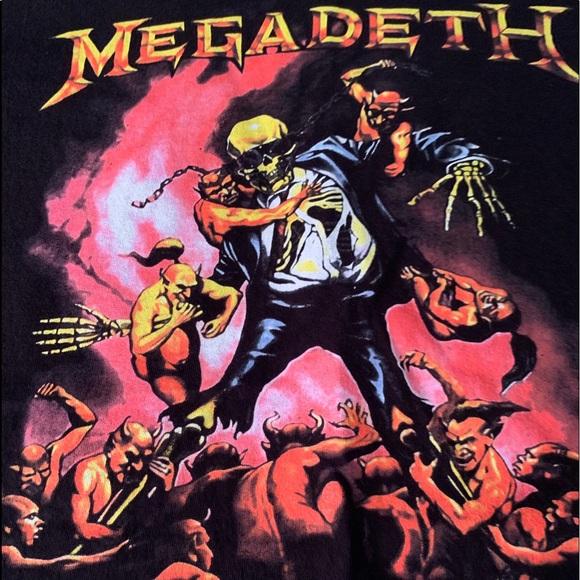 Hanes Other - Megadeth 💀Tee 🤘😝